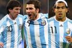 Messi,Higuain & Tevez