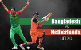 Bangladesh-nedarland (t20 wcup) 2016