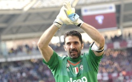 Juventus'+goalkeeper Buffon
