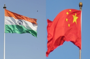 india-and-china-flag