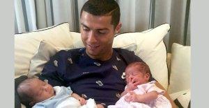 ronaldo twin babe