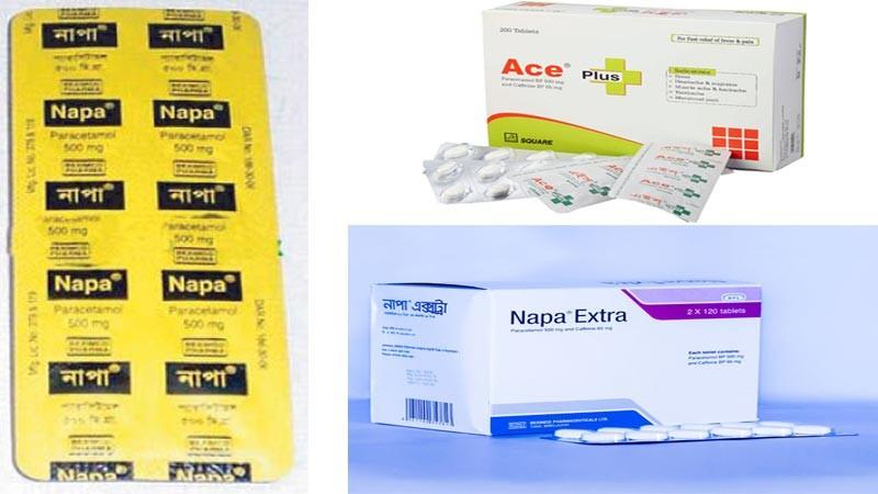 Paracetamol, Napa, Ace